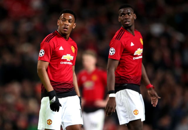 United have had to do without French duo Anthony Martial and Paul Pogba