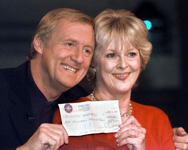 Millionaire winner Keppel Tarrant