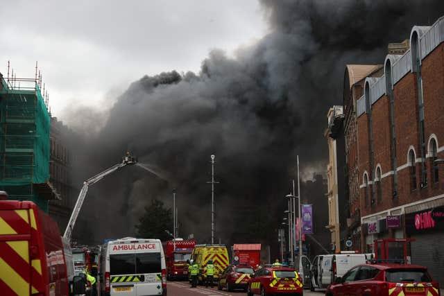 Belfast fire