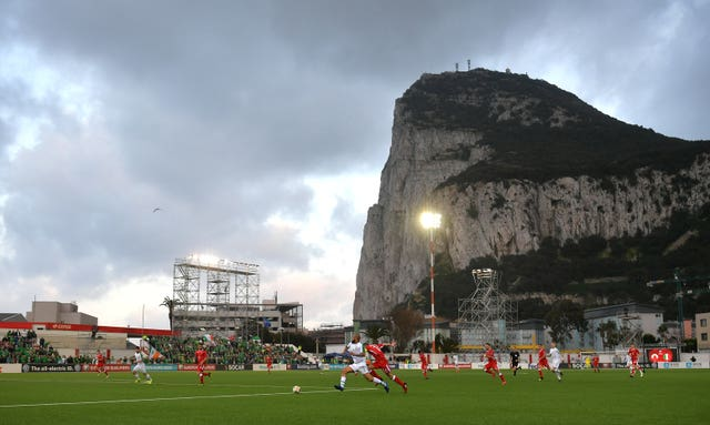 The Republic of Ireland claimed a narrow 1-0 win in Gibraltar