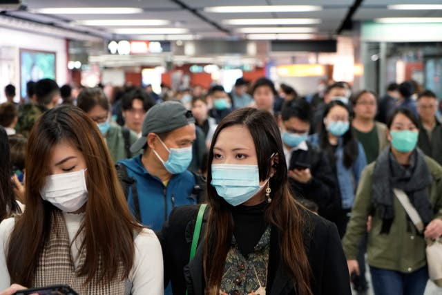 Hong Kong China Outbreak