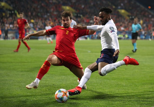 Danny Rose was among the England players racially abused in Montenegro