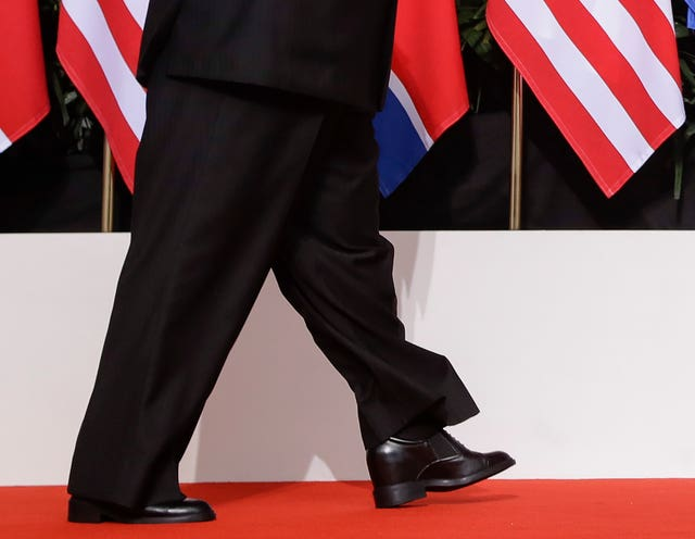 Kim Jong Un's shoes