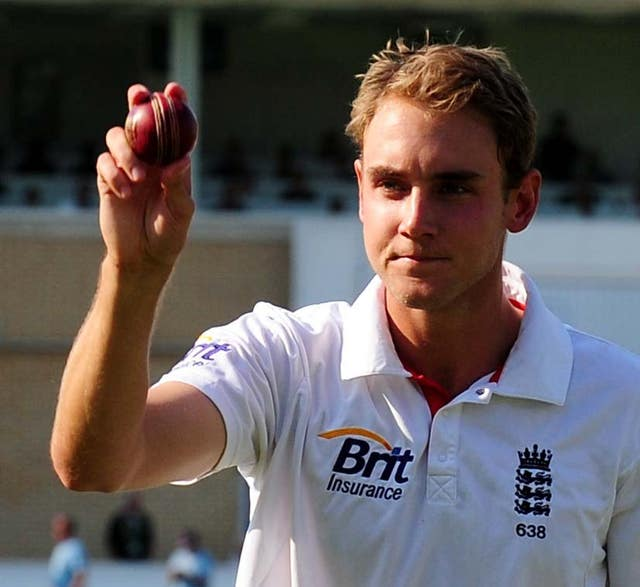 Broad took his first Test hat trick against India in 2011, finishing with figures of 6-46 as he was also named man of the match