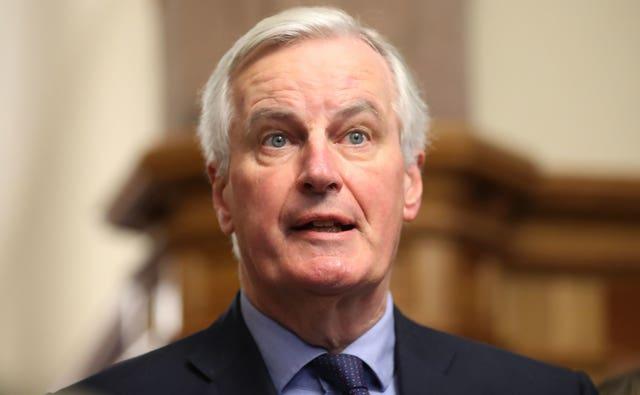 The EU's chief Brexit negotiator Michel Barnier