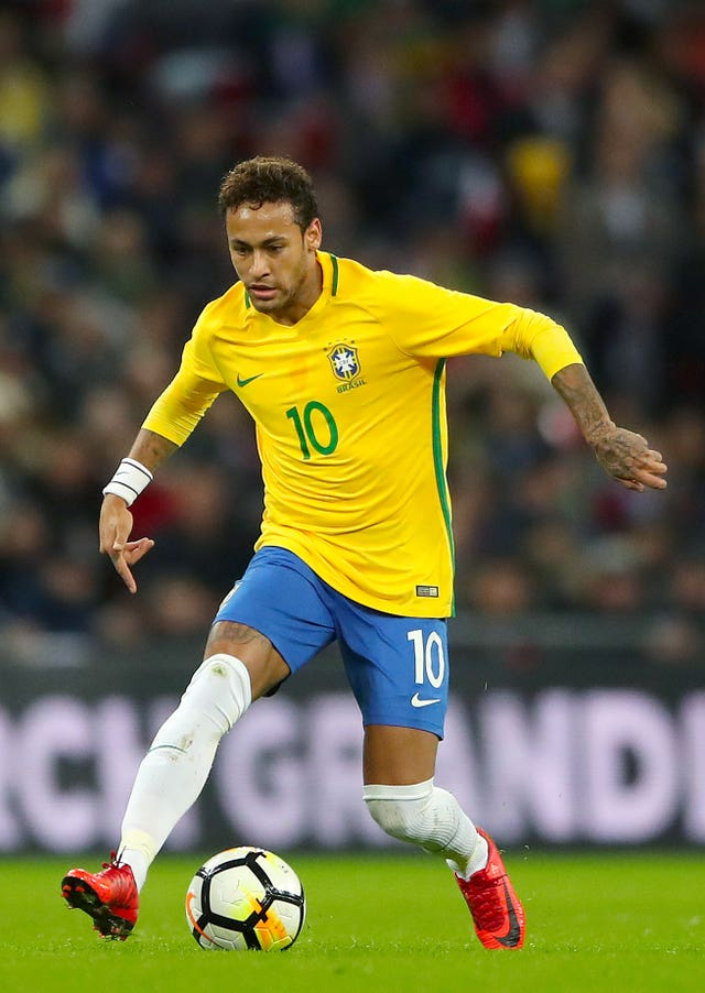 Jesus' fellow Brazilian Neymar faces a spell on the sidelines