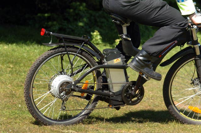 Electric-powered bike