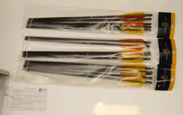 Crossbow arrows