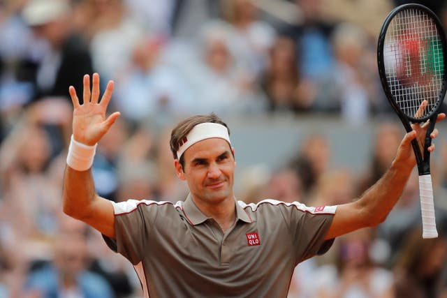 Roger Federer is through to the second round