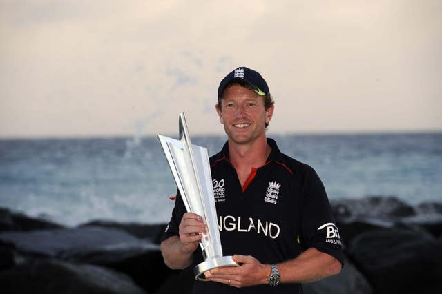 Paul Collingwood led England to World Twenty20 glory in 2010