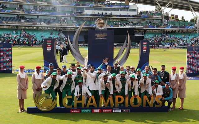 Pakistan defeated India in the final of the Champions Trophy (Steven Paston/PA)