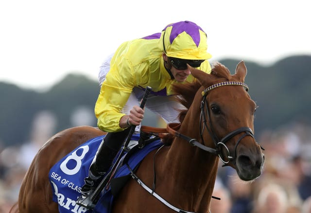 Sea of Class was a brilliant winner of last season's Yorkshire Oaks