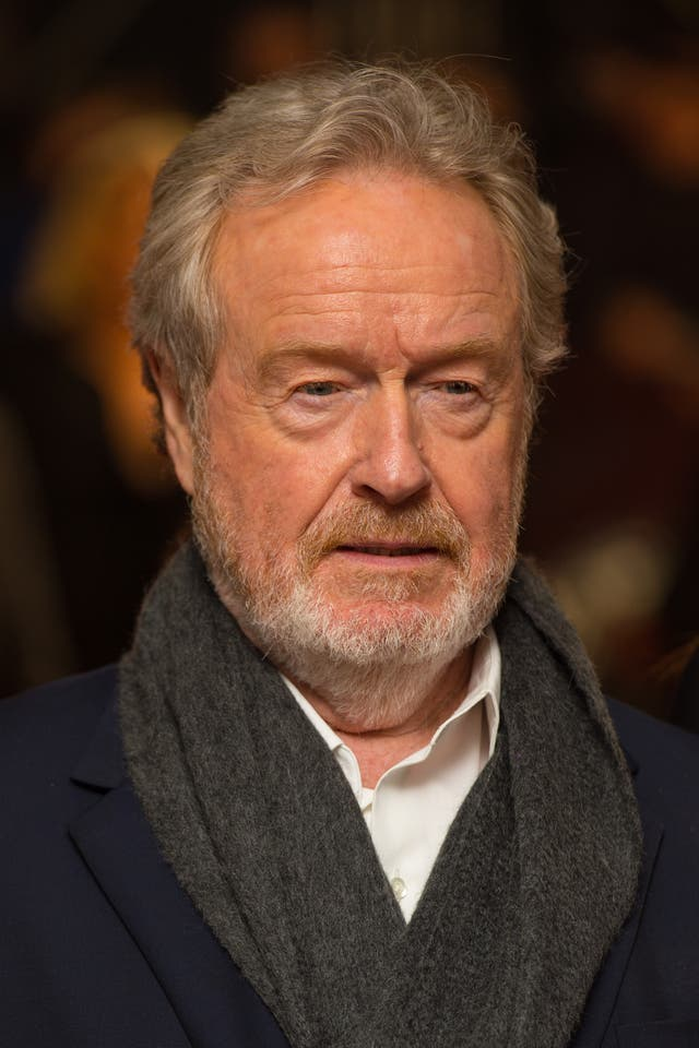 Ridley Scott has paid tribute to author Peter Mayle