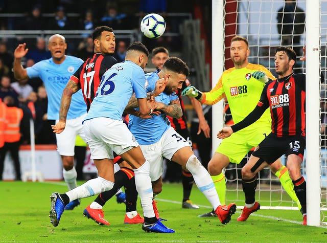 Manchester City face Bournemouth on Sunday