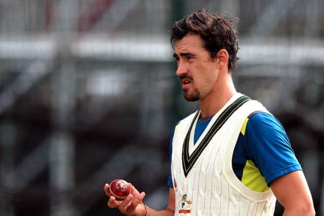 Mitchell Starc is in contention to return at Old Trafford