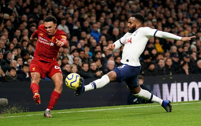 Rose made his last appearance for Spurs in a 1-0 defeat to Liverpool in January
