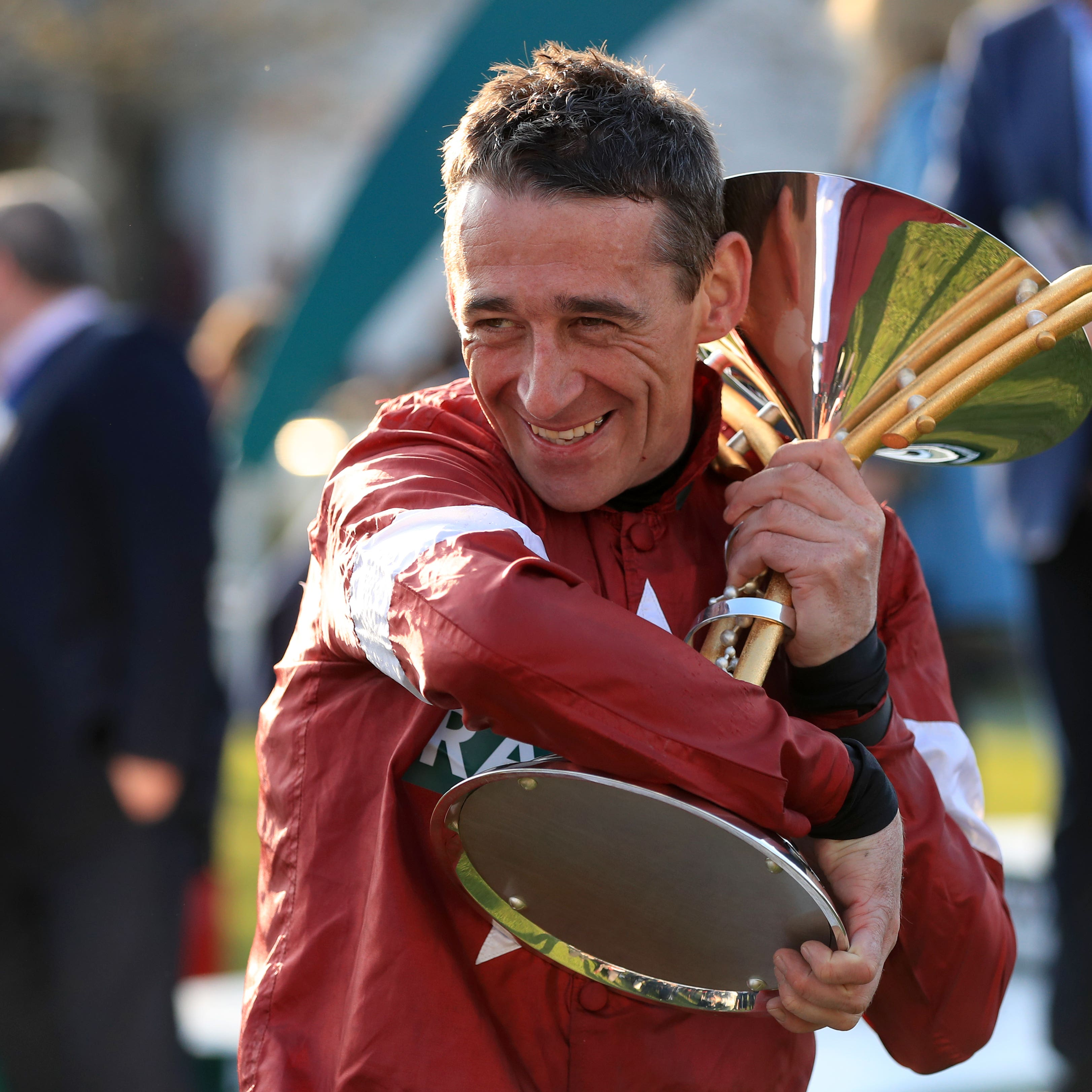 Davy Russell celebrated more big-race success in France on Sunday