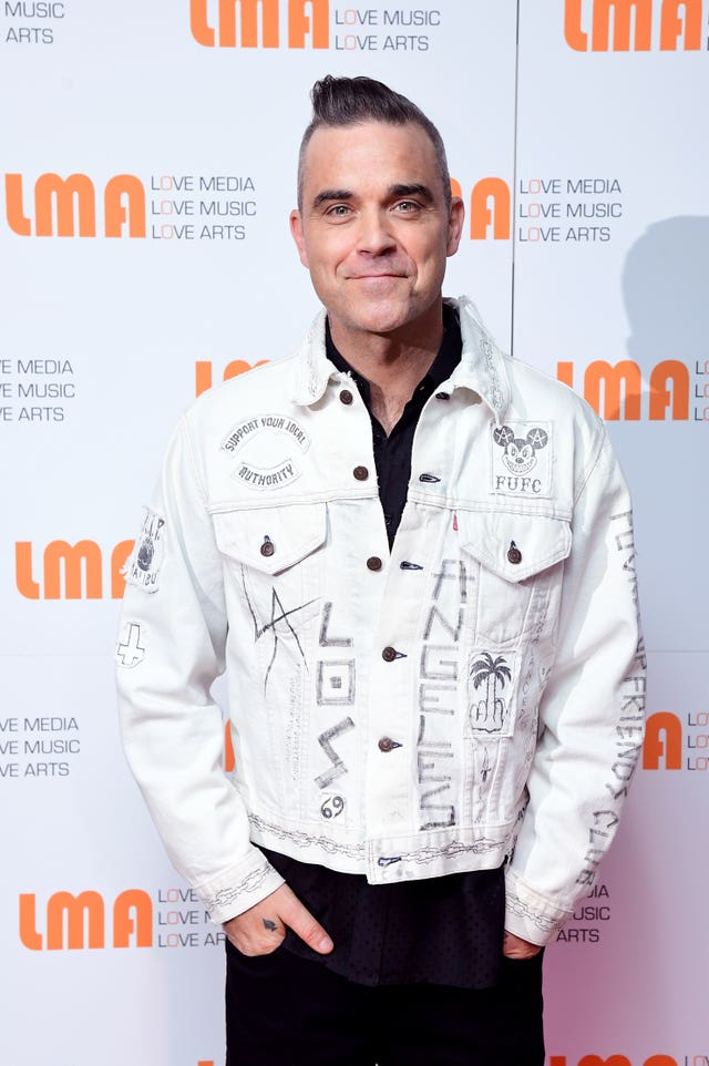 Robbie Williams Christmas musical plans