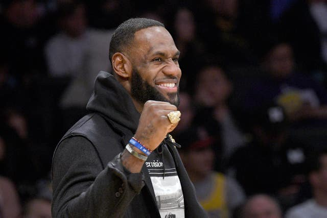 LeBron James' LA Lakers take on LA Clippers on Christmas Day