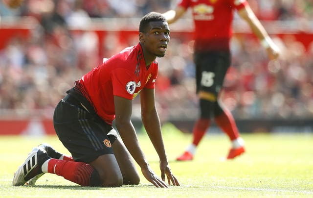 Paul Pogba has been subject of criticism despite being named in the 2018-19 PFA Team of the Year