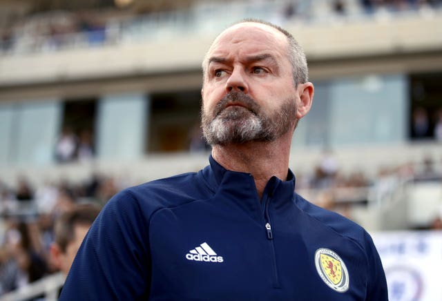 Steve Clarke had a difficult start to life as Scotland boss