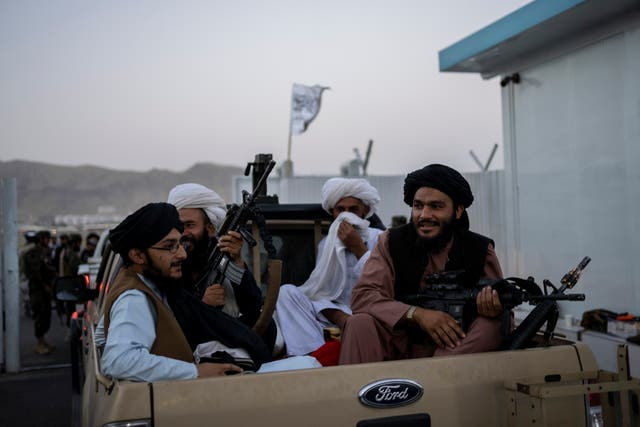 Taliban fighters (Bernat Armangue/AP)