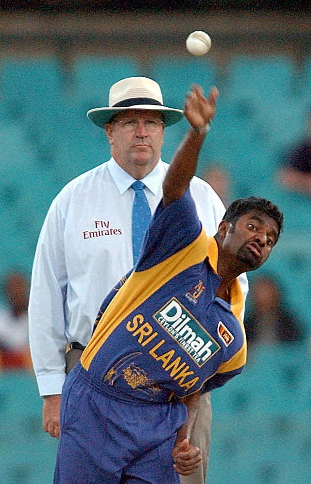 Murali Muralitharan took his first wicket aged 20 in 1992
