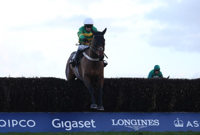 Hell's Kitchen ran a big race to be fourth in the Champion Chase at Cheltenham