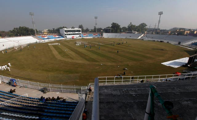 The first Test takes place in Rawalpindi