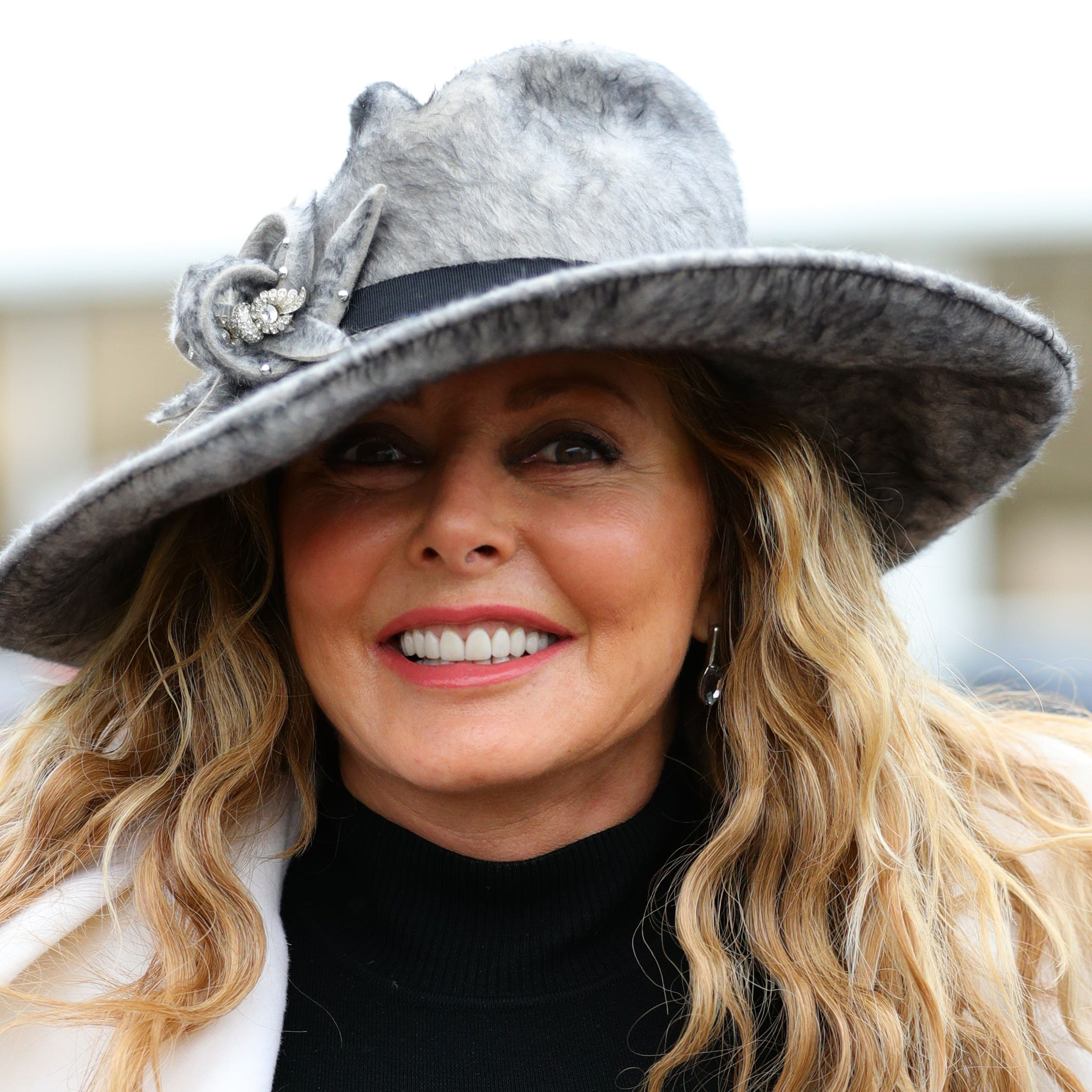 Carol Vorderman was a winning owner at Chepstow