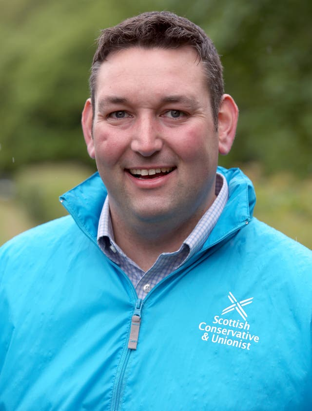 Scottish Conservative health spokesman Miles Briggs (Andrew Milligan/PA)