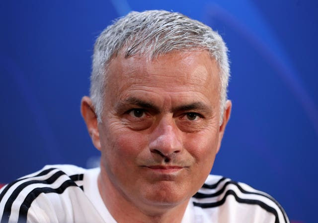 Manchester United manager Jose Mourinho said he would be keeping his thoughts about the allegations against City to himself (Martin Rickett/PA).