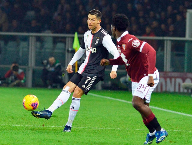 Cristiano Ronaldo could not get past an inspired Salvatore Sirigu in the Torino goal