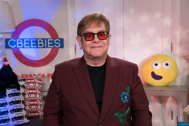 Sir Elton John reading a CBeebies Bedtime Story