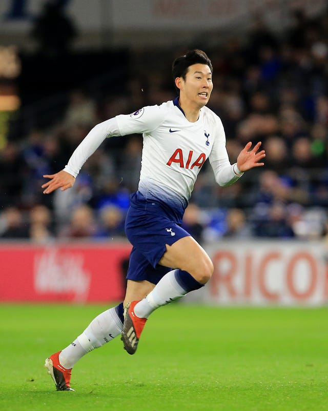 In-form Son Heung-min will not be available for the second leg against Chelsea