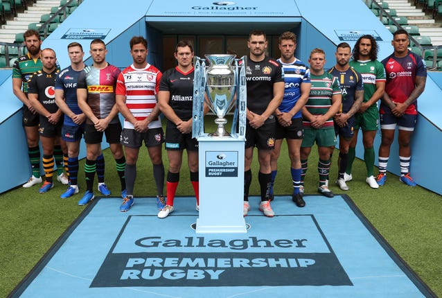 Gallagher Premiership Launch – Twickenham