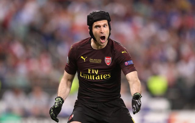 Goalkeeper Petr Cech retired at the end of last season