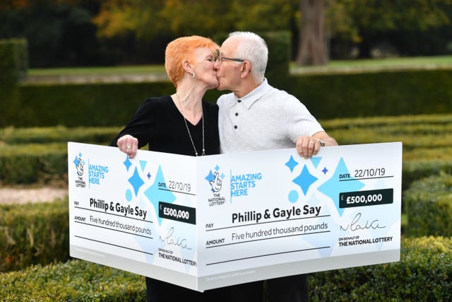 Coventry couple Lotto win