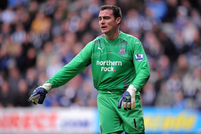 Steve Harper made 199 senior appearances for Newcastle