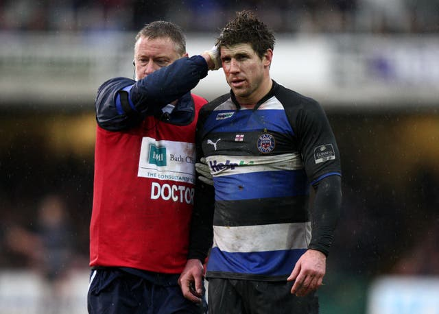 Retired Bath flanker Michael Lipman is suffering from CTE