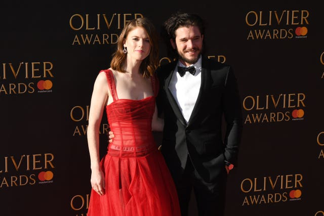 Rose Leslie and Kit Harington