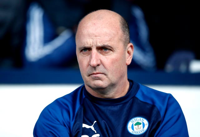 Paul Cook is Wigan's manager