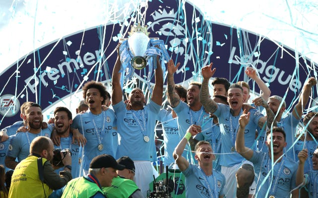 City won the title with a record 100 points in 2018 but pushed on to win the treble last season