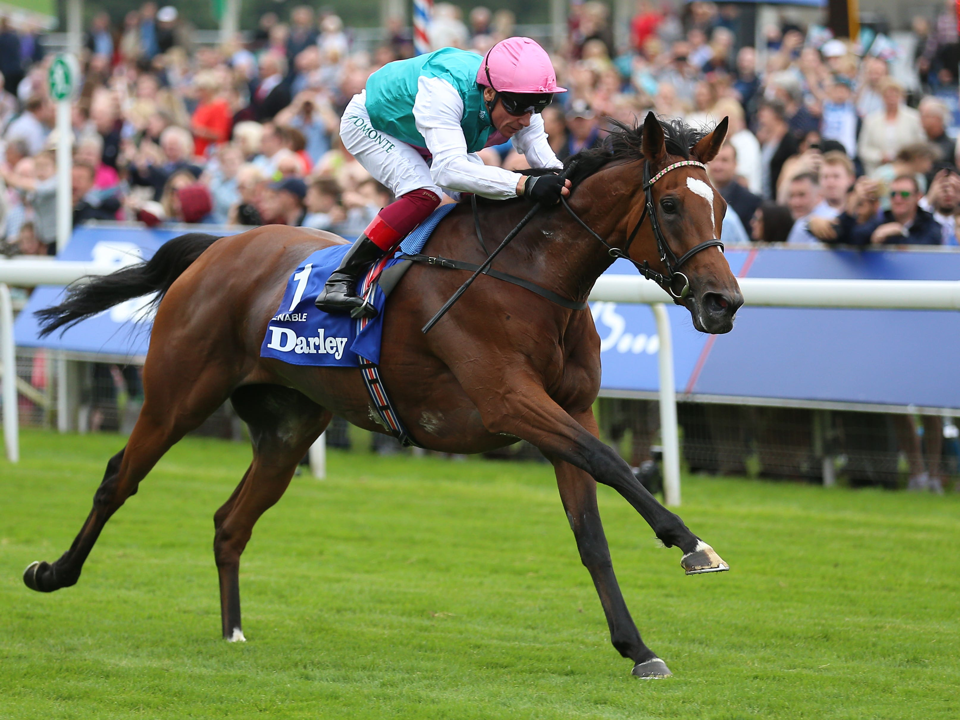 Enable and Frankie Dettori are set to defend their Coral-Eclipse title at Sandown on Sunday (Nigel French/PA)