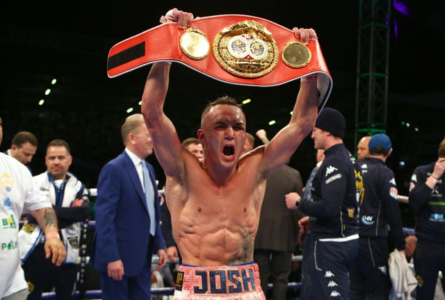 Josh Warrington was relentless when defeating Lee Selby to win the IBF world featherweight title at Elland Road in January