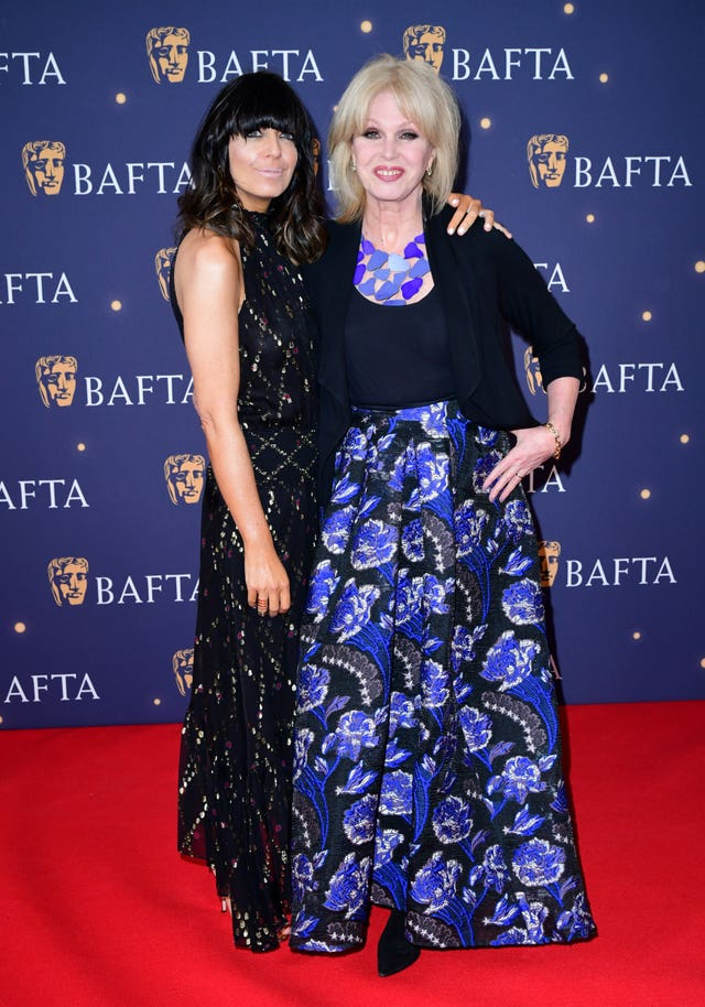 Claudia Winkleman, left, and Joanna Lumley
