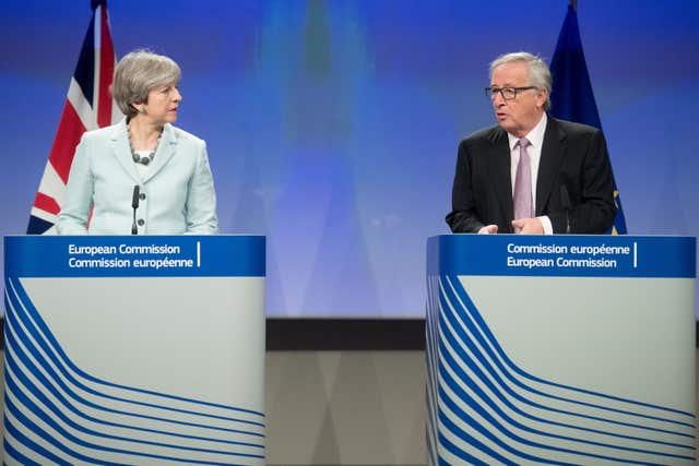 EU Commission President Jean-Claude Juncker has said second phase Brexit talks would be