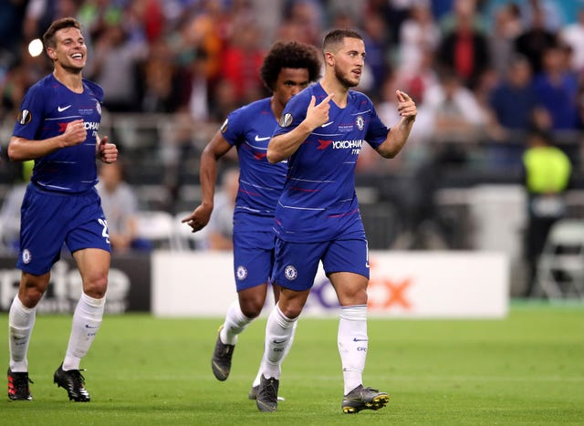 Hazard netted twice in the final