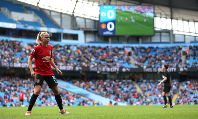 Manchester City's FA Women's Super League derby clash against Manchester United attracted a crowd of more than 31,000 to the Etihad Stadium