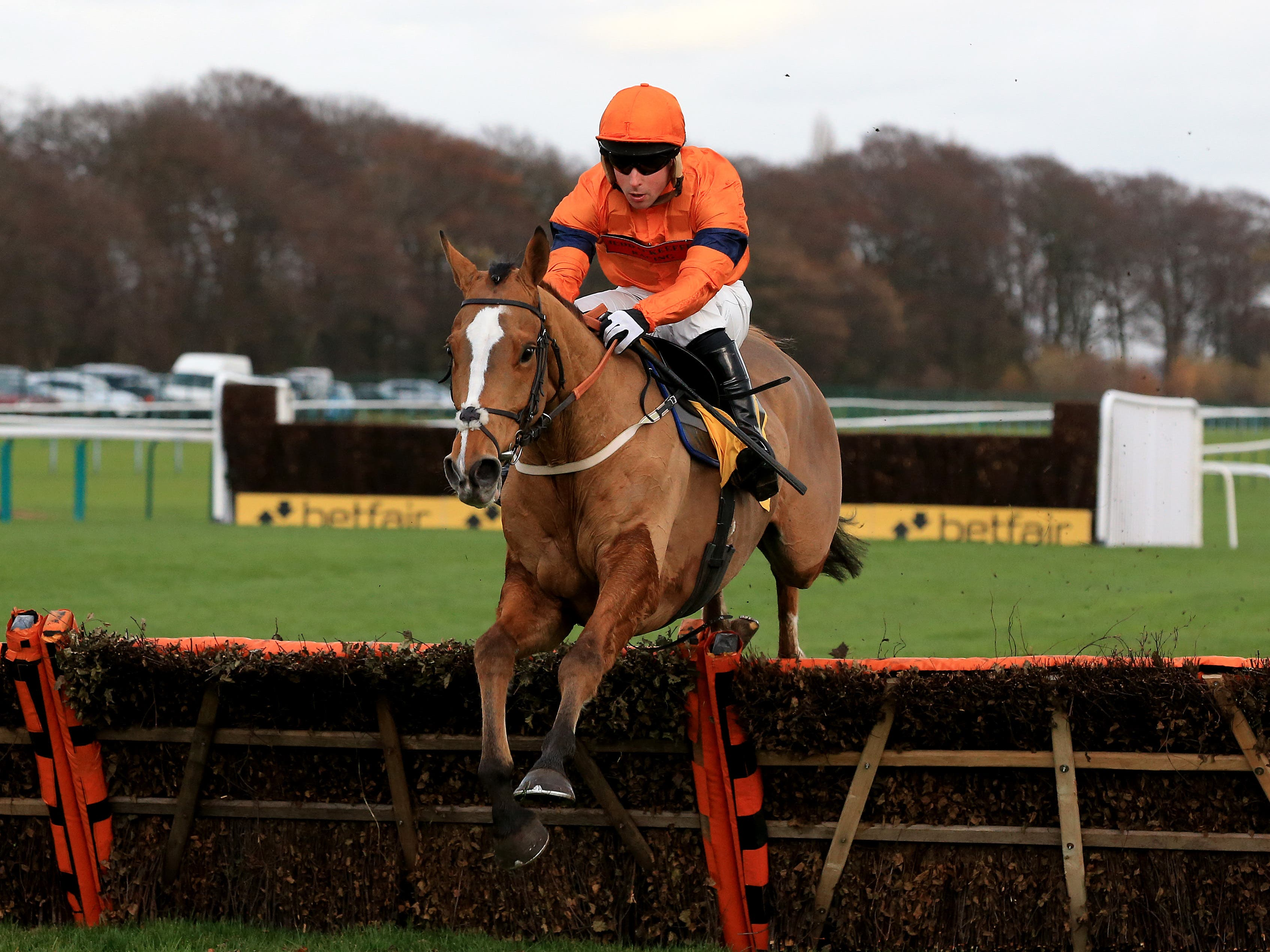Sam Spinner makes his chasing debut at Wetherby (Clint Hughes/PA)